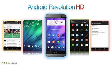 android revolution hd top 5 custom roms for htc one m9