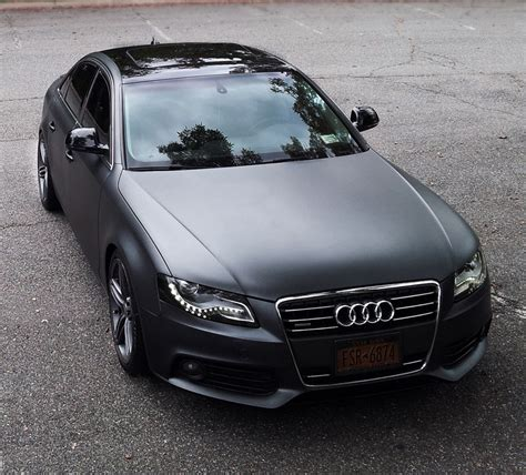Audi B8 A4 Matte Grey Metallic Plasti Dipped My Car