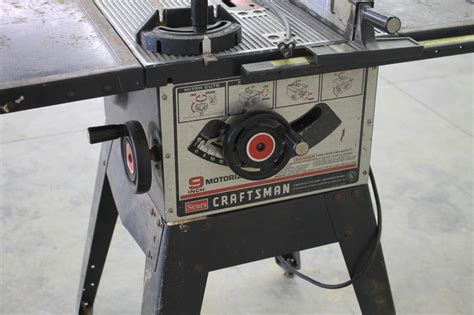 craftsman bench saw craftsman 9 quot table saw 120 volt