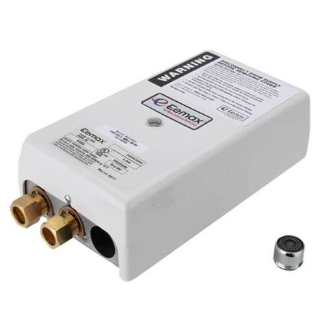 tankless water heater electrical connection ex65 eemax ex65 ex65 flow controlled electric tankless