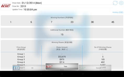new year toto draw date singapore pools toto 4d result android apps on play