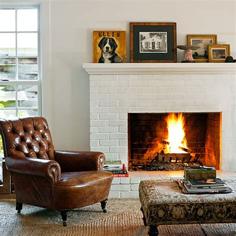 fireplace chairs ingenious makeover for a country house in sonoma