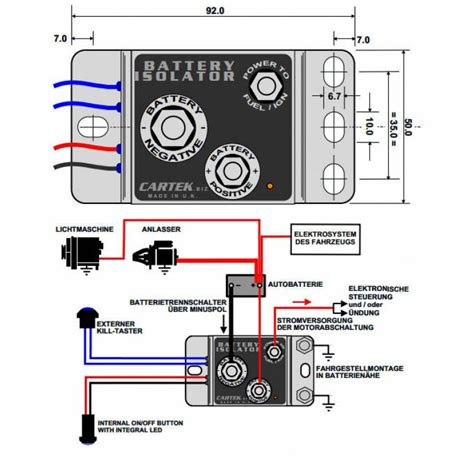 car audio dual battery isolator wiring diagram get free