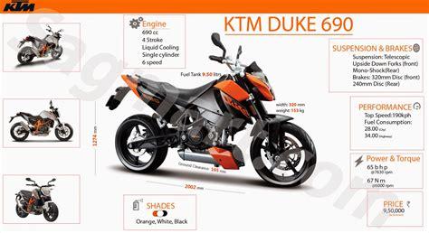 Ktm 690 Horsepower Ktm Duke 690 Easy To Understand Bike Specs Sagmart