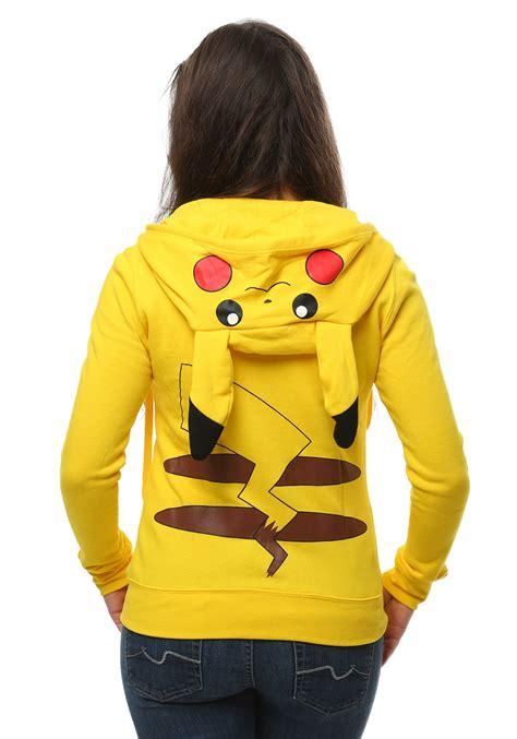 in hoodie womens i am pikachu hoodie