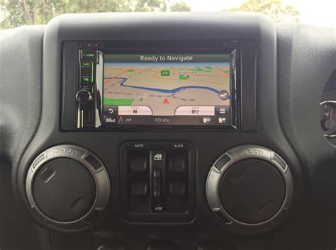 Jeep Navigation System Wrangler 2016 Kenwood Dnx4150bt Sat Nav Creative