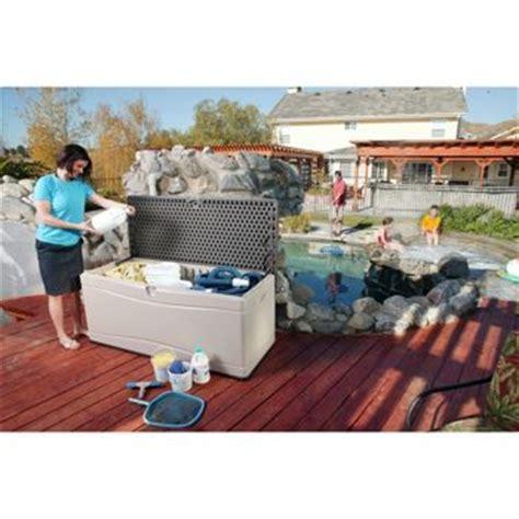 costco outdoor storage bench costco lifetime 130 gallon deck box storage benches