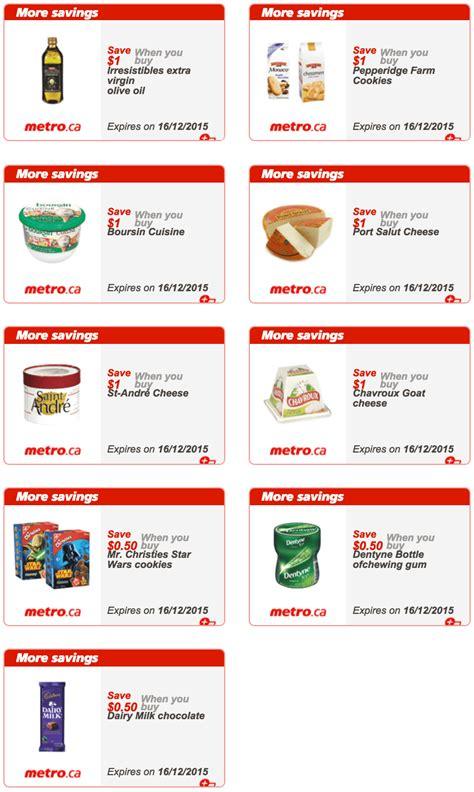 printable grocery coupons quebec metro quebec printable coupons december 10 to december 16