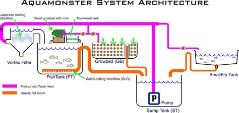 system design diagram dwc aquaponics