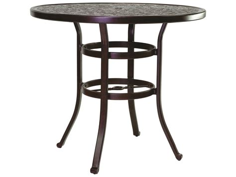 Table Ready by Castelle Vintage Cast Aluminum 44 Counter Height