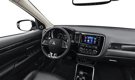 mitsubishi outlander interior 2018 mitsubishi outlander crossover mitsubishi motors