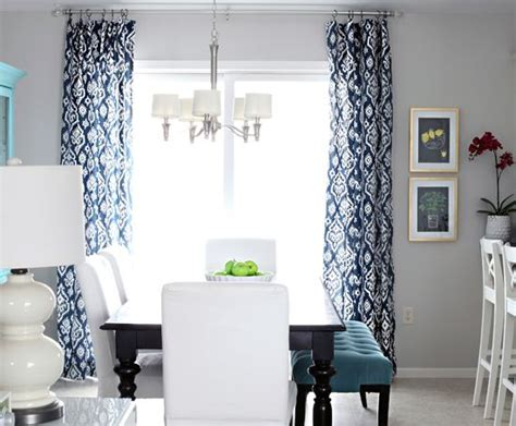 blue dining room curtains 142 hooked on navy https www fabric com buy 0329814