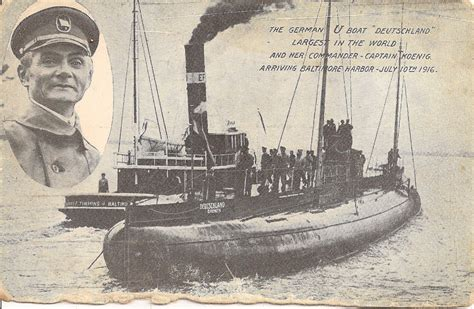 german u boat harbour german u boat deutschland arrives in baltimore 1916