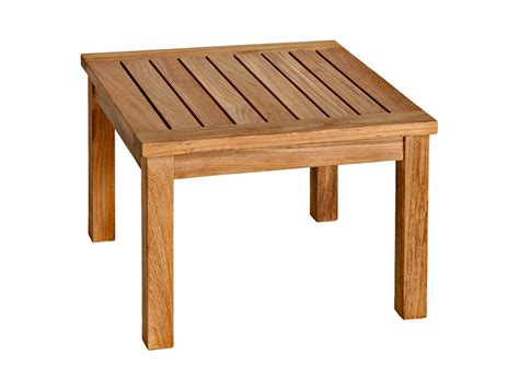 Outdoor Table Ls For Patio Three Birds Casual Newport Teak 20 Square Low Side Table Tbnp20ls