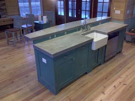 cast place concrete countertops traditional kitchen birmingham concrete countertop studio