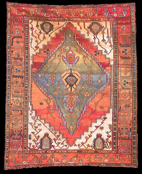 rugs guide rugs illustrational guide bakhshayesh rug