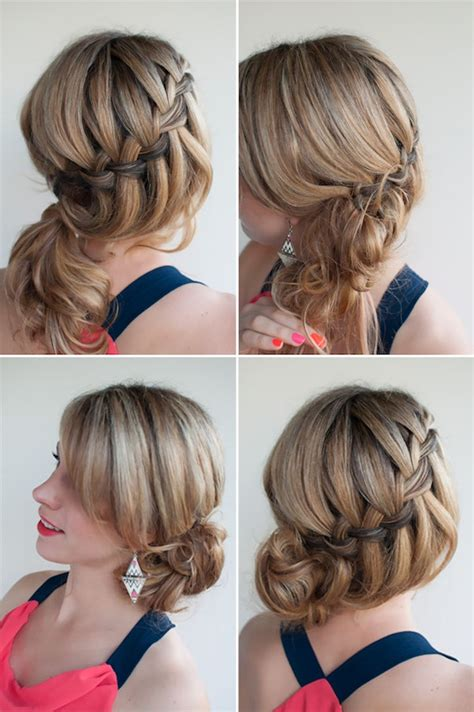 diy hairstyles waterfall braid how to waterfall braid exploratory technology 104