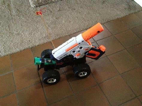 nerf car gun hack an rc car s unused 3rd channel