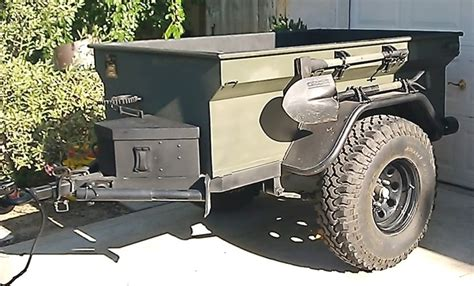 military jeep trailer old m416 style military trailer military trucks