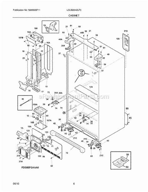 frigidaire gallery refrigerator parts diagram refrigerators parts frigidaire replacement parts