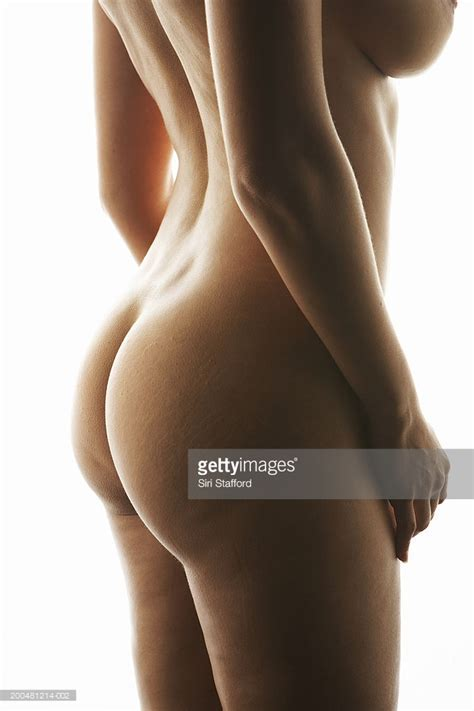 Nude Woman Side View Stock Photo Getty Images