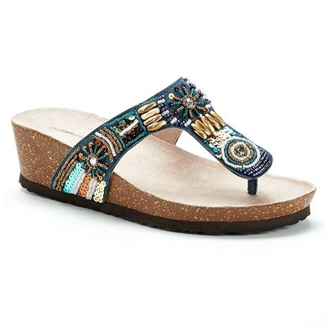 and barrow sandals barrow s beaded footbed from kohl s