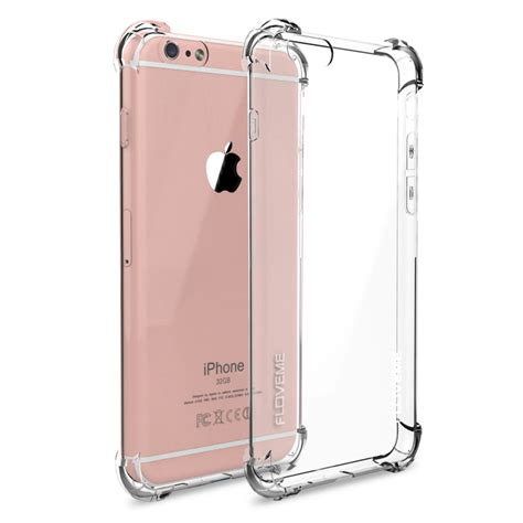 Protection Transparent Tpu Jelly Iphone 7 Plus Clear aliexpress buy floveme anti knock for iphone 6