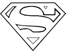 superman logo coloring pages superman logo template clipart best