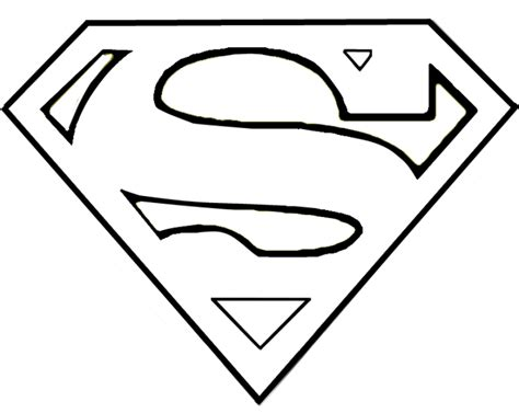superman template superman stencil clipart best