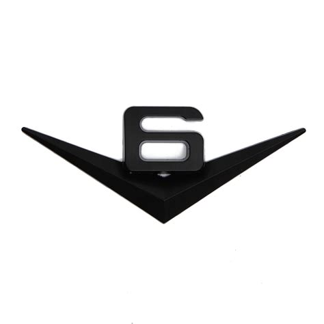 V6 3d Aufkleber by 3d V6 Emblem Schriftzug Aufkleber Wandtatoo Sticker Auto