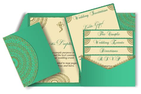 email wedding invitation templates india pocket style email indian wedding invitation card design 65