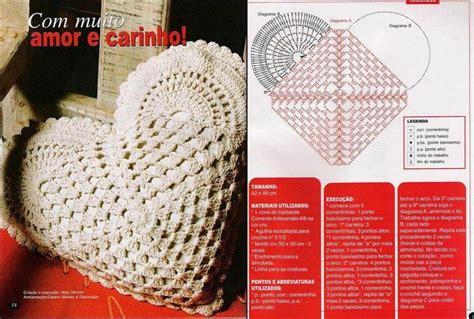 pattern for heart shaped pillow heart pillow crochet crochet kingdom