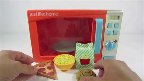 Just Like Home Kitchen Play Set Just Like Home Microwave Oven Playset Pretend Play