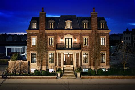 in homes chicago illinois exterior architectural photography luxury