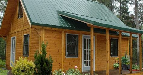 Log Cabin Kits Michigan by Panel Concepts The Small Cottage Company Made In Mio