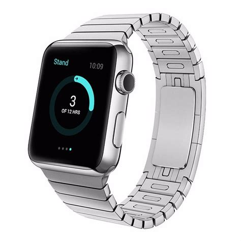New Apple Stainless 3 Link I Wacth Series 1 2 3 2 316l stainless steel band link bracelet straps for apple iwatch series 2 1 ebay
