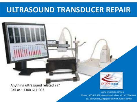transducer repair ultrasound transducer repair