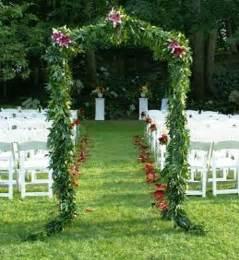 wedding arches outdoor outdoor wedding arch outdoor weddings