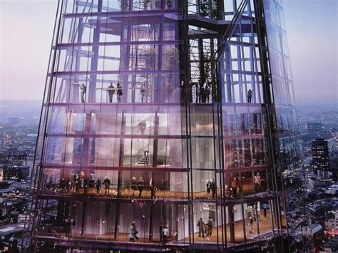 The Shard Interior by Why The Bottom Of The Shard Is More Interesting And