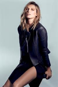 daria model daria werbowy models leather fashions for cass bird in l