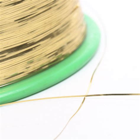 thin tinsel thin gold tinsel spool ribbon and trims craft supplies