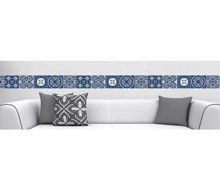 cenefas para azulejos cenefa de vinilo azulejos azul ref 19119296 leroy merlin