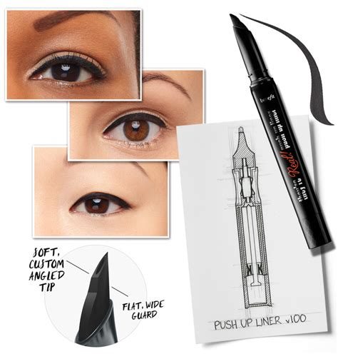 Real Push Up Liner By benefit s they re real push up liner review yay or nay the makeup obsession