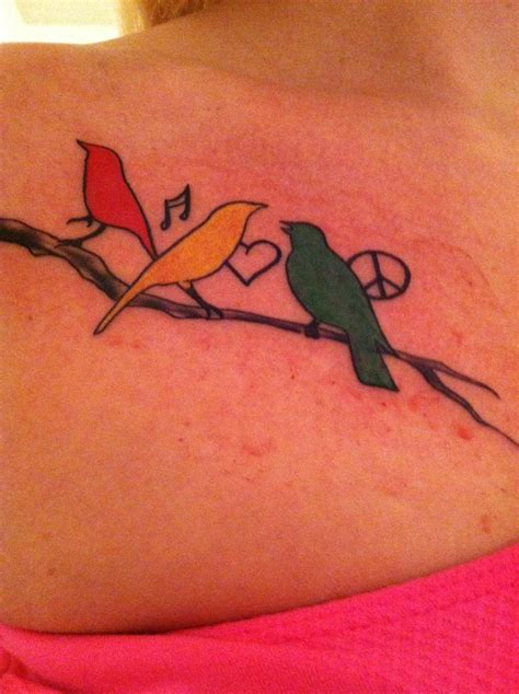 three bird tattoo the 25 best three birds ideas on
