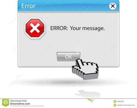 message for error cliparts