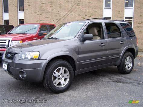 ford escape grey 2005 ford escape limited 4wd in dark shadow grey metallic
