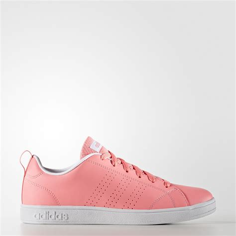 adidas advantage clean shoes pink adidas