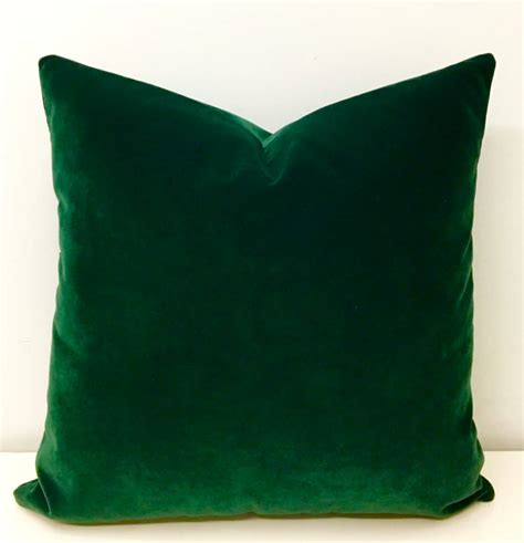 green pillows for couch dark green velvet pillow green pillows velvet pillow cover