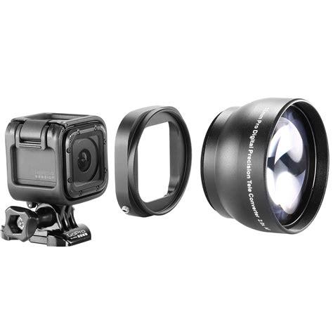 Gopro Lens neewer black 52mm lens filter adapter ring for gopro 4 session