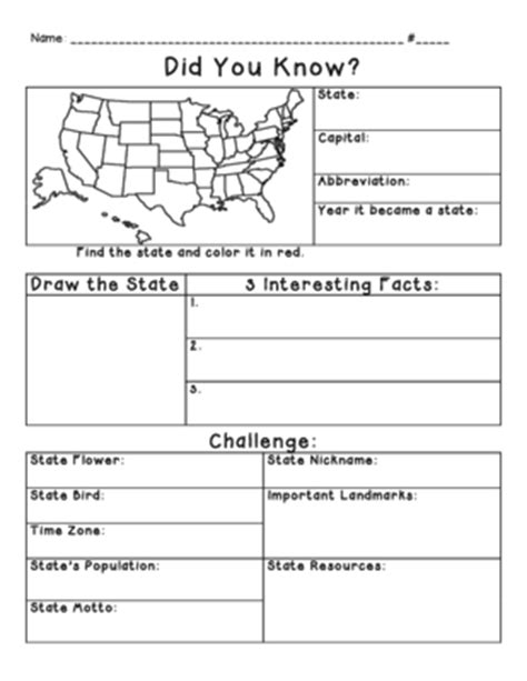 state report template state research from miss cherritt s shop on